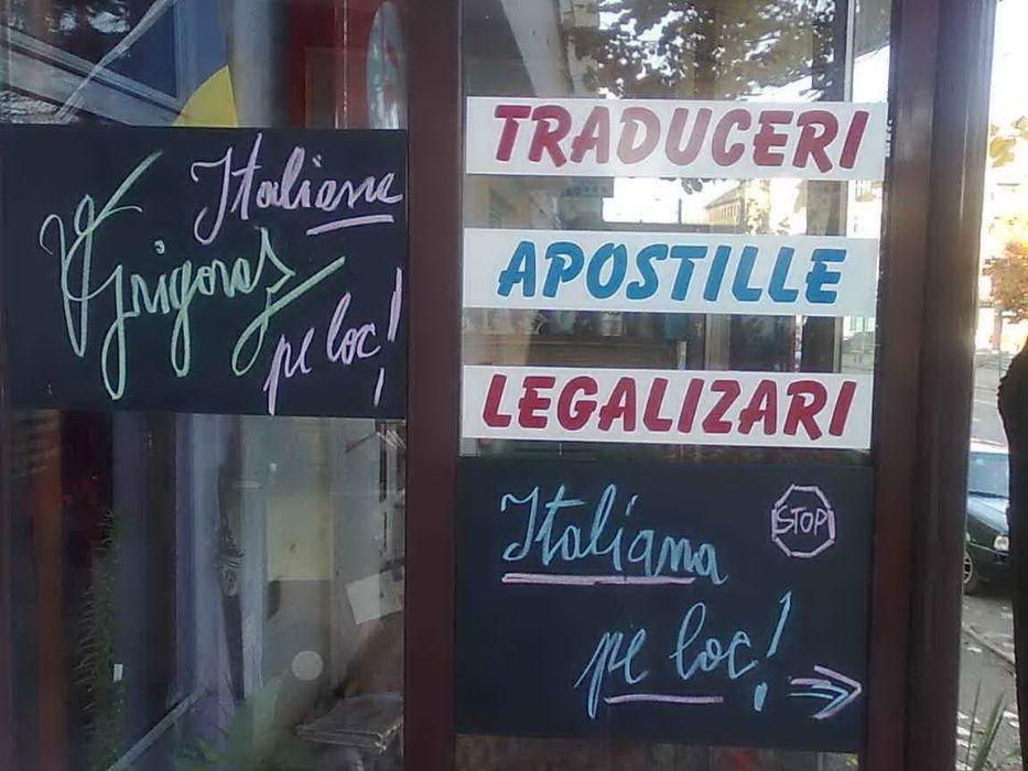 Traducator autorizat - Italiana Engleza Franceza