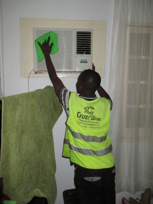 manutenção dos sistemas de climatização