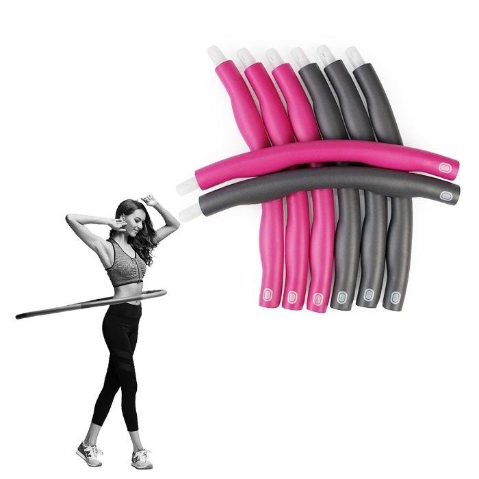 Масажен обръч за въртене и отслабване Hula Hoop