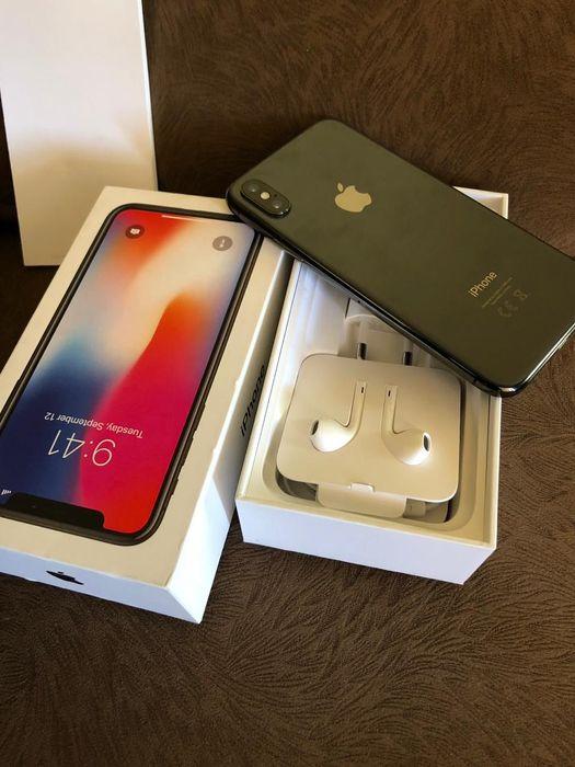 Iphone x 256GB preto com caixa e acessórios