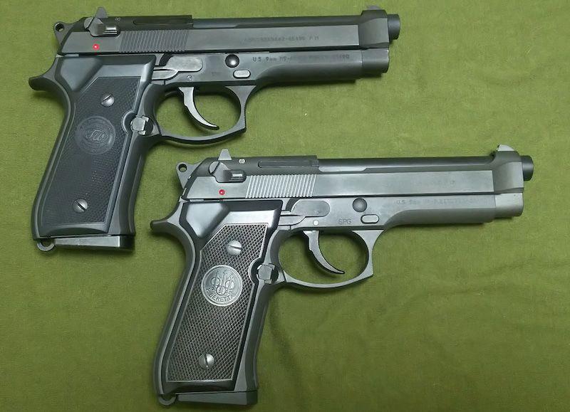 PISTOALE-Modificate-AIRSOFT Foarte-PUTERNICE Beretta M9 Aer Comprimat