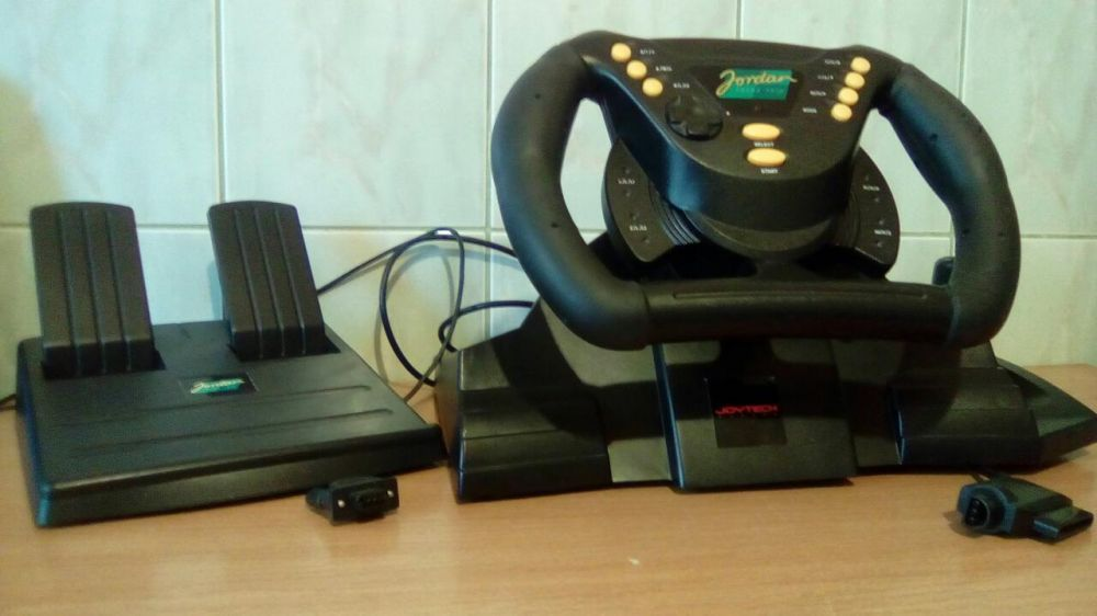 Nintendo 64 Jordan Grand Prix Racing Wheel