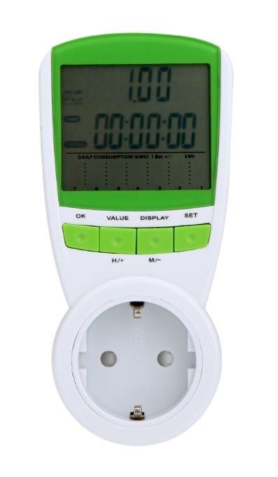 Измерители мощности и расхода электричества для домашней розетки