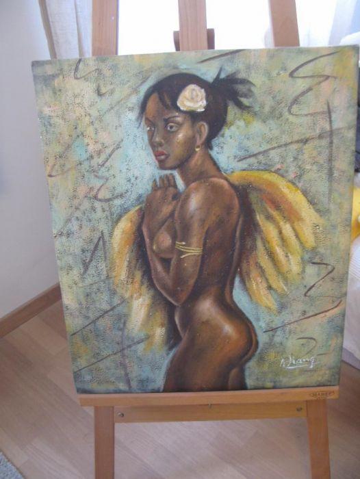 Tablou Femeie Africana nud