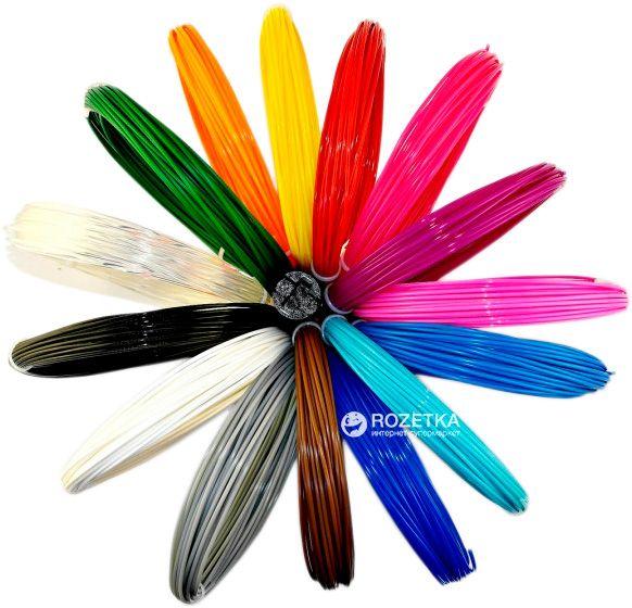 Пластик в 3d ручку, 450тг_5метров, успей купиить