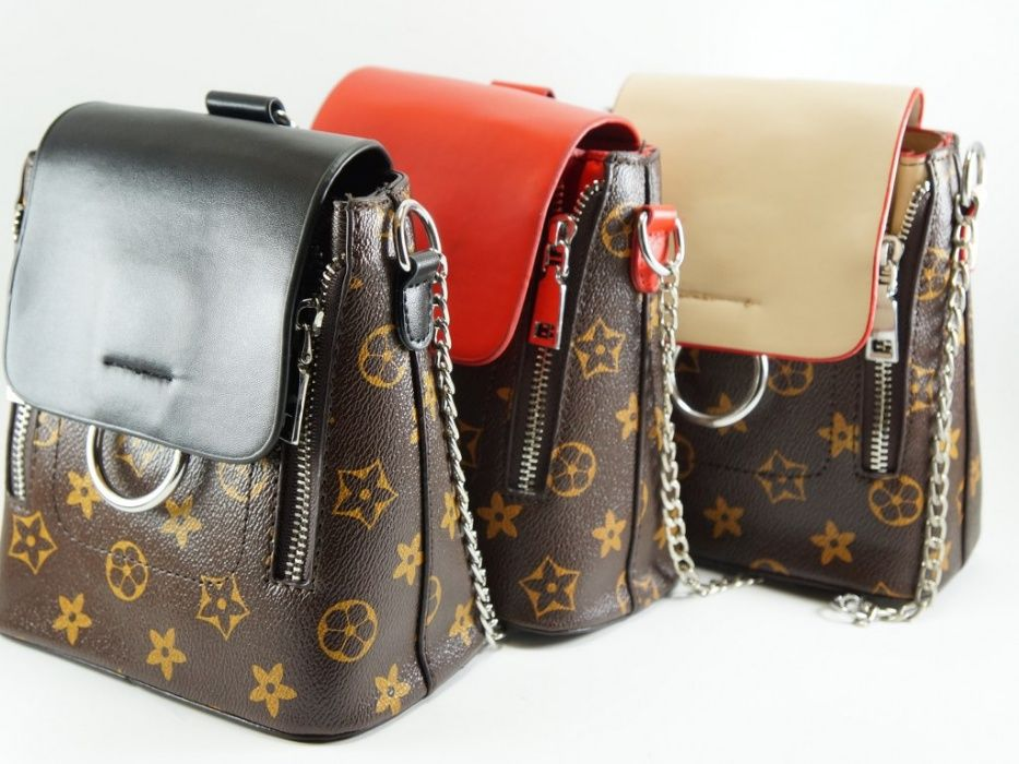 Чанта раница в стил Louis Vuitton гр. София - image 1