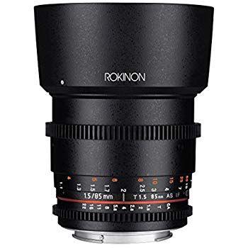 Rokinon Cine DS DS85M-C 85 milímetros T1.5 AS IF UMC Full Frame Lens C