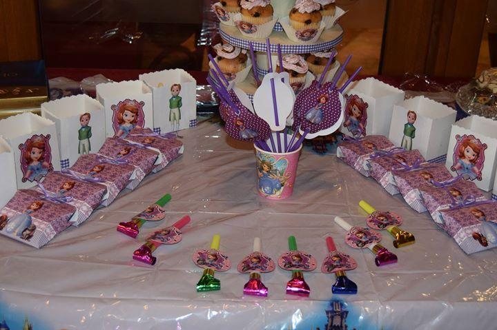 Украса за тематичен рожден ден Принцесите на Дисни