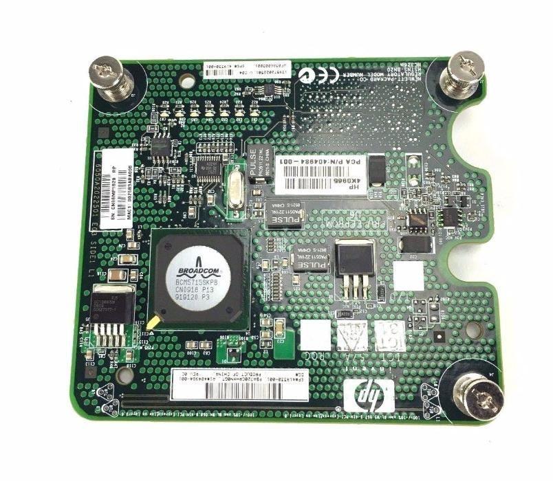 HP NC326M 1GB Dual Port PCI-E X4 Mezzanine SERVER ADAPTER 419330-001
