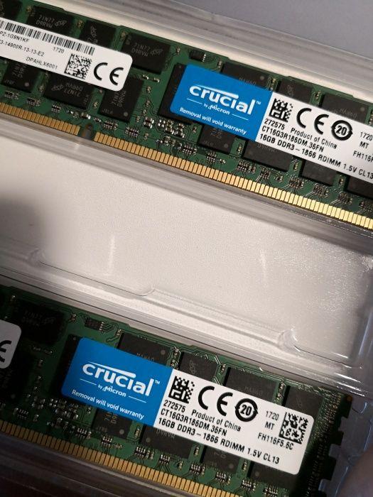 Memorie 32GB kit DDR3 (2x 16gb) Crucial Premium memory Mac compatible