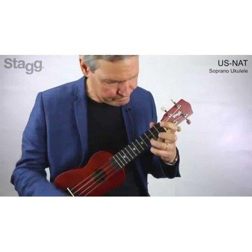 Укулеле Сопрано STAGG - модел US-NAT