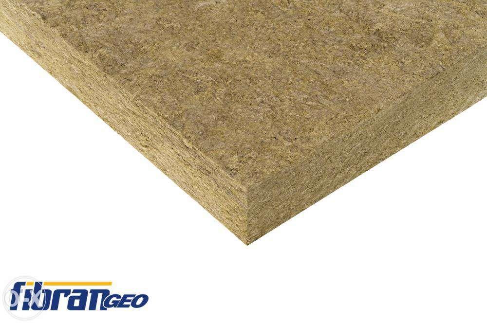 Placi Vata Minerala Bazaltica 30kg/m3 100mm FIBRANgeo