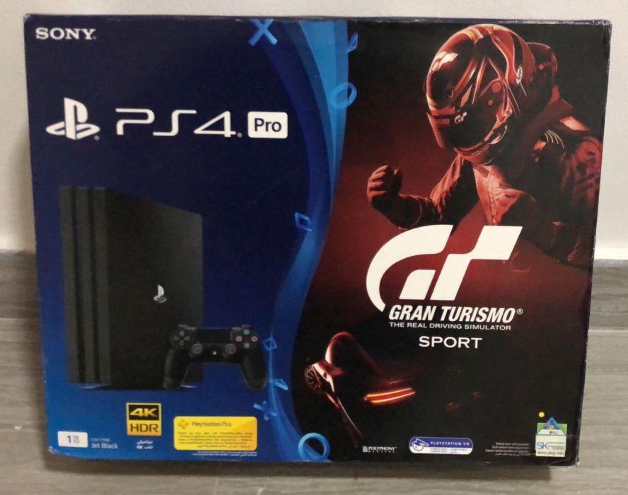 Ps4 Pro 1TB com jogo Gran Turismo selados