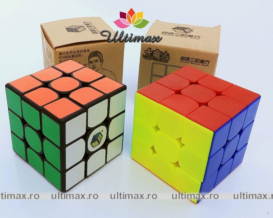 Profesional Yuxin Little Magic - cub Rubik 3x3x3 + suport gratuit