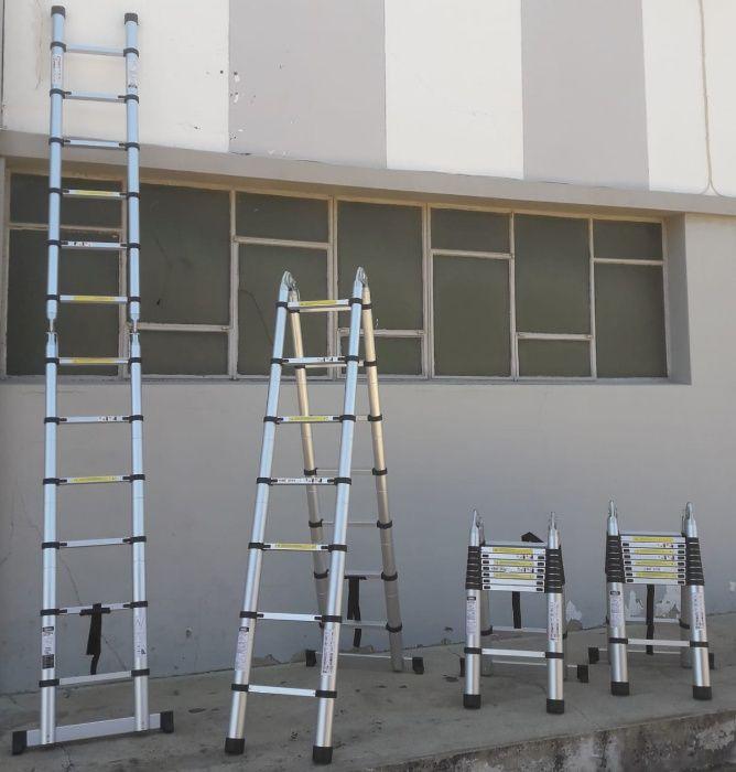 Escadotes telescópicos de alumínio de alta qualidade Modelo KME3044