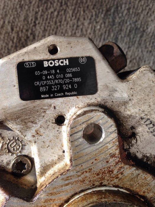 Pompa inalta presiune BOSCH 0445010086 opel astra G/H 1.7CDTI,59kw,80c