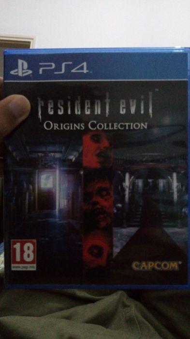 Vendo Resident Evil Origins Ps4 em otimo estado
