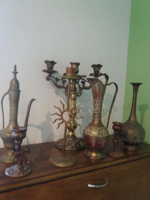 Lot antichitati sfesnic vaza vaze