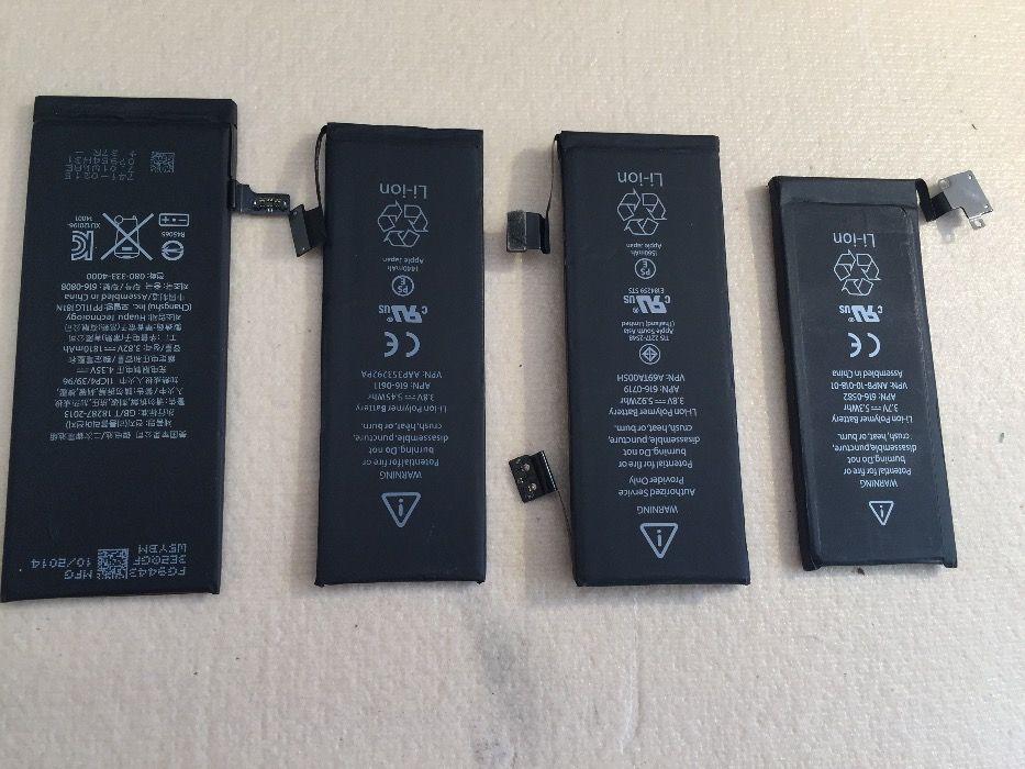 Baterie iPhone 4 4s 5 5s 5c 6 6+ 6s/+ Montaj Verificare Garantie GSM
