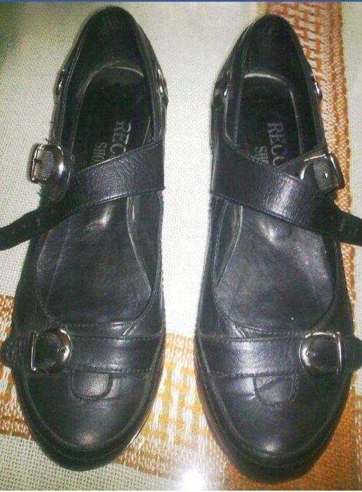 Обувки естествена кожа