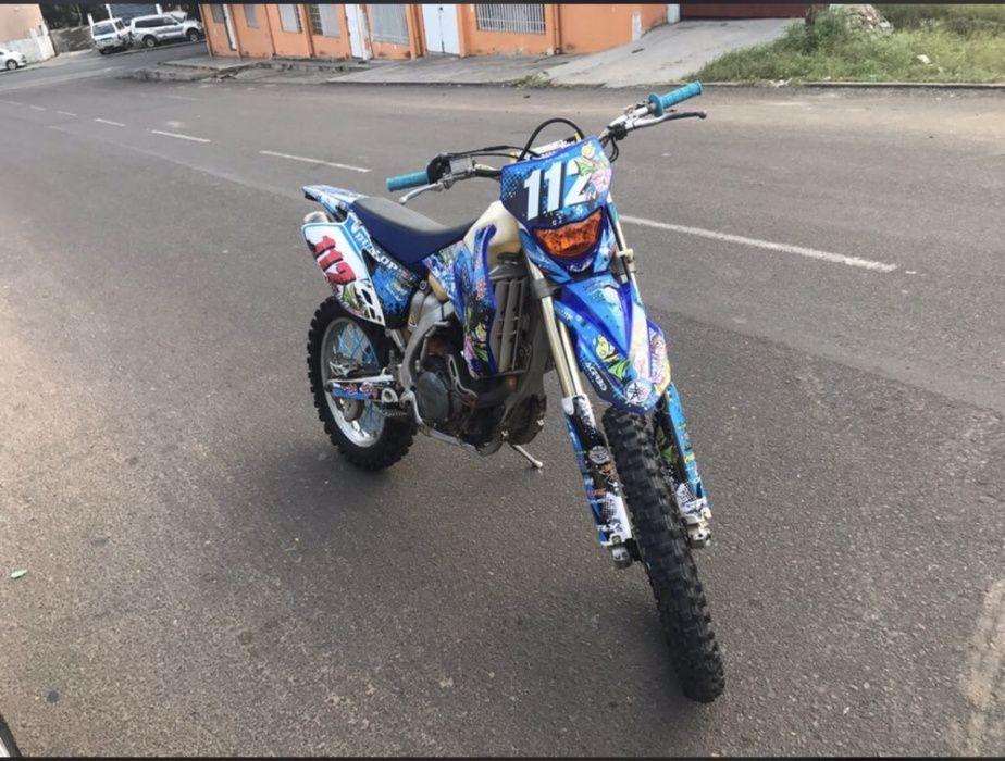 Motor bike cross