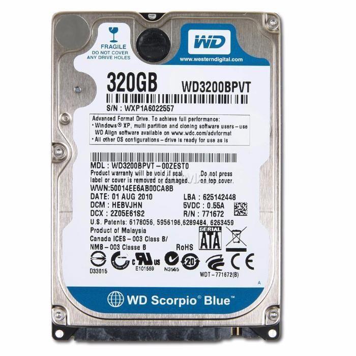 Жесткие диски для ноутбуков (slim, SHDD,SSD) и ПК в количестве.
