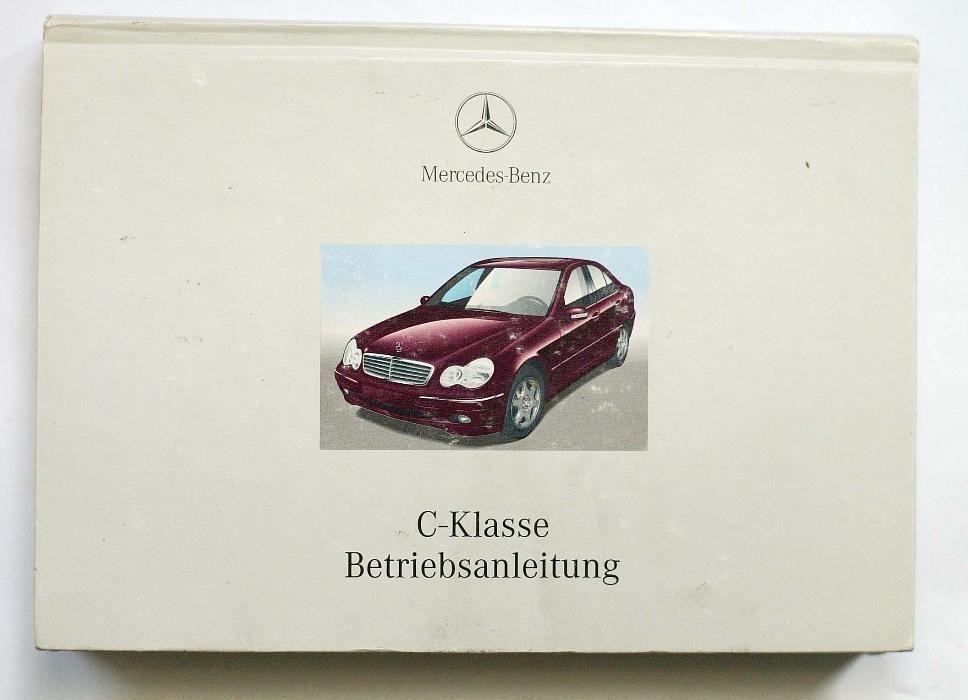 Manual intretinere Mercedes clasa C W203
