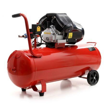 Compresor Aer 100 L cu 2 Pistoane 350 L-KD1480 - kraftprofesional.ro Radauti - imagine 3