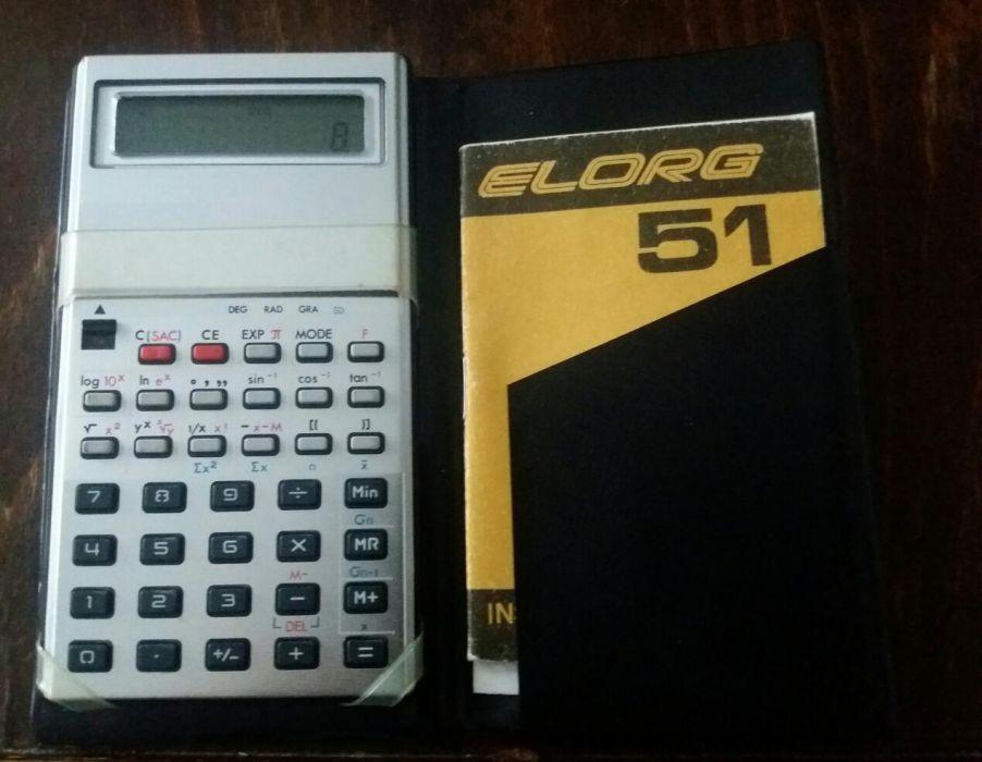 Calculator stiintific Elorg 51 vintage Urss 1984
