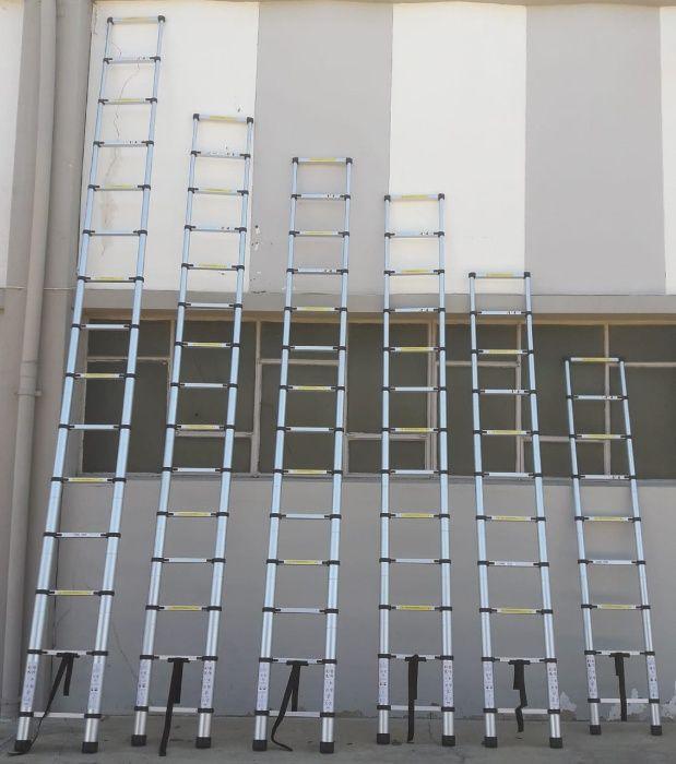 Escadotes telescópicos de alumínio de alta qualidade Modelo KME1026