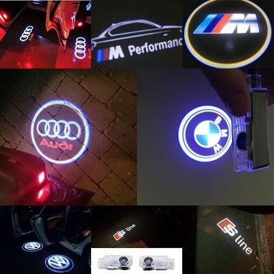 Proiector lampa dedicata LOGO led AUDI si BMW!!!