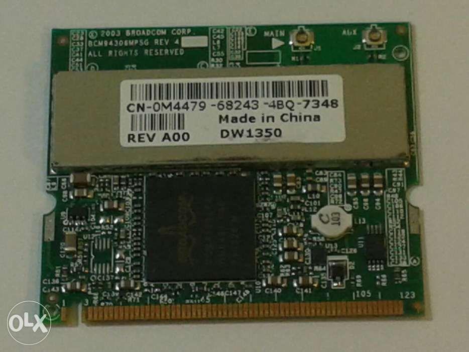 Placa retea wireless Mini PCI Broadcom BCM94306MPSG