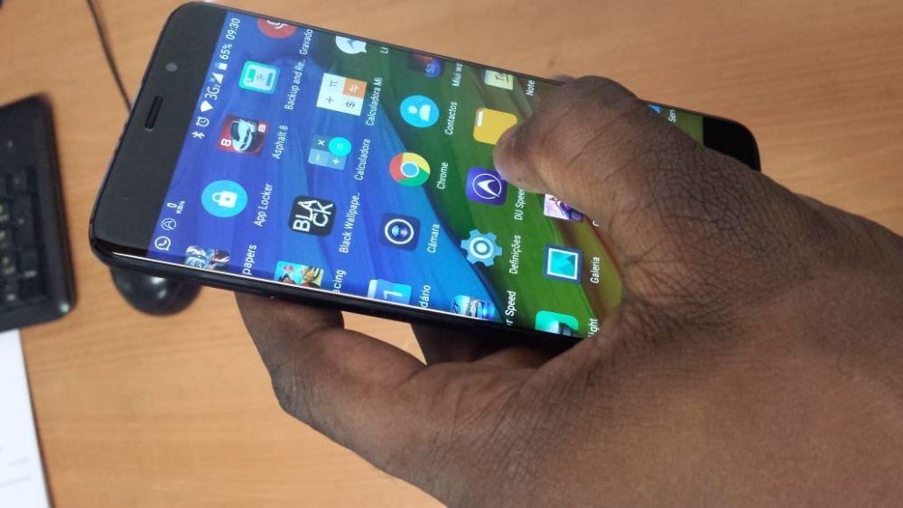 Elephone S7 4G Edge - Preto 4GB RAM + 64GB ROM