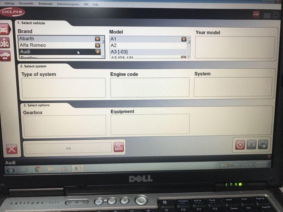 Diagnoza Auto + Dell Latitude D620/D630 + tester Delphi(optional)