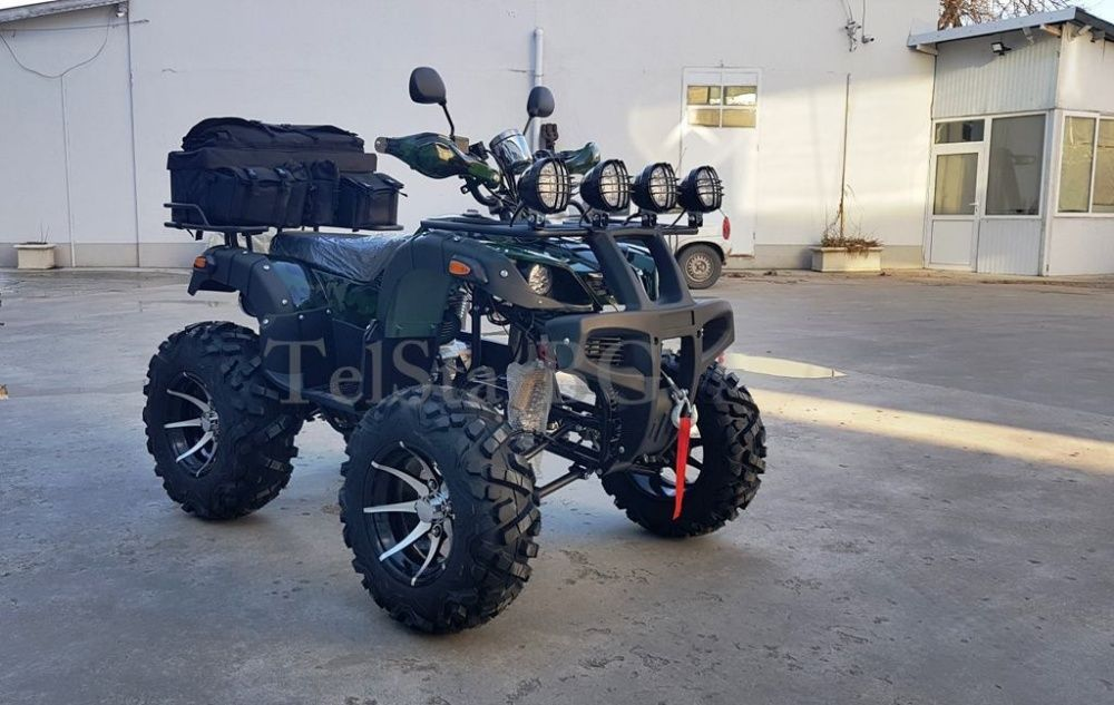 ATV 250 CC Hunter Camouflage с лебедка и теглич НОВО