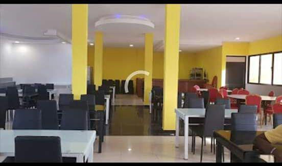 É salão de festa restaurante esplanada e hospedaria CACUACO
