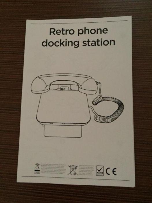 retro iPhone docking station