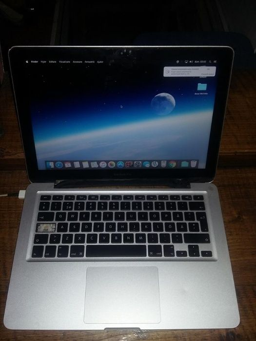Aplle Macbook,Pro 9,I5,HDD 500giga,4 gigaderam,Disp 13,3,Transp.GRATUI