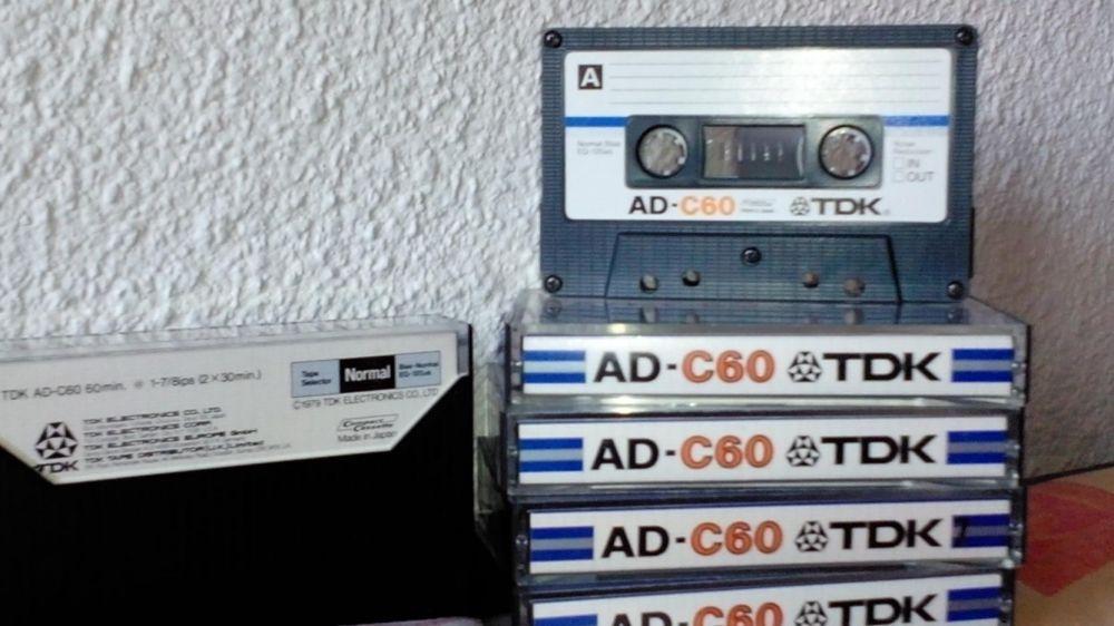 TDK AD 60 min vintage audio.