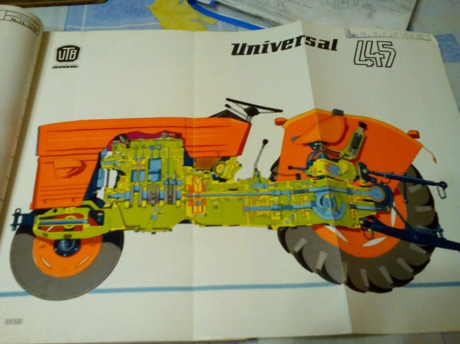 Manuale reparații tractor u445 si 650