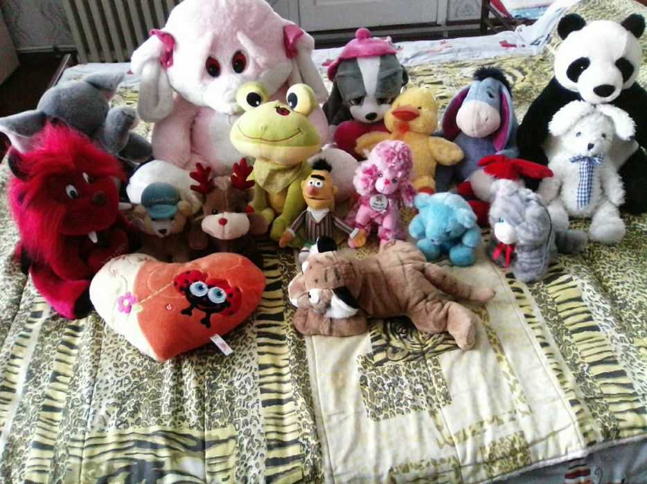Продавам плюшени играчки