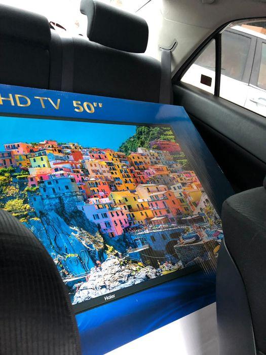 Tv haier 50 polegadas 4K UHD nova selada, com direito a recibo e 1 ano Bairro Jorge Dimitrov - imagem 1