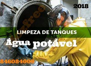Limpeza de tanque de agua potavel