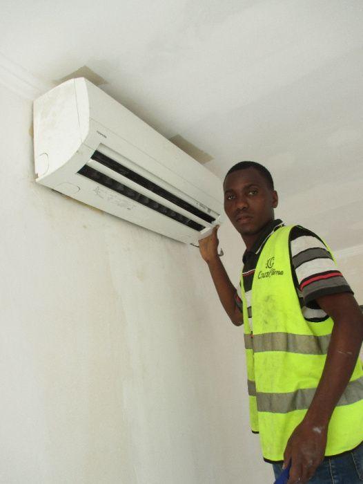 Instalação, montagem, reparação e manutenção de ar condicionados