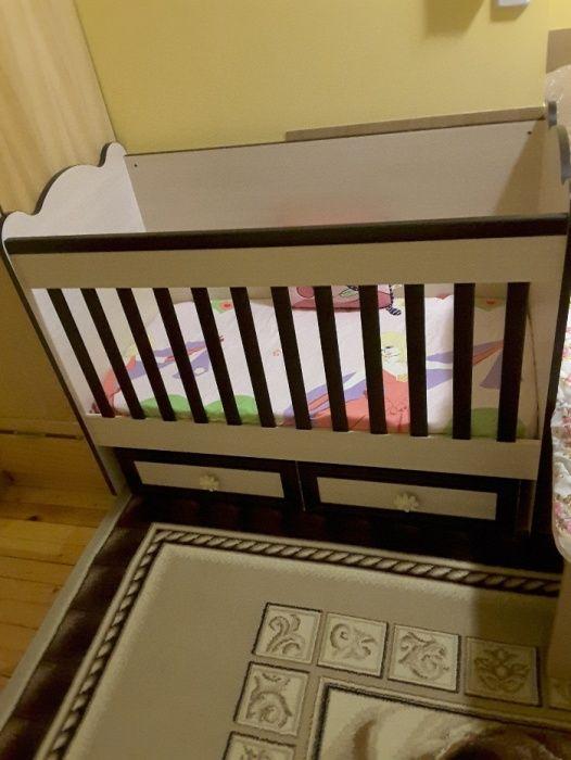 """Бебешка кошара и комод на """"Disain baby"""" + матрак Pierre carden """""""