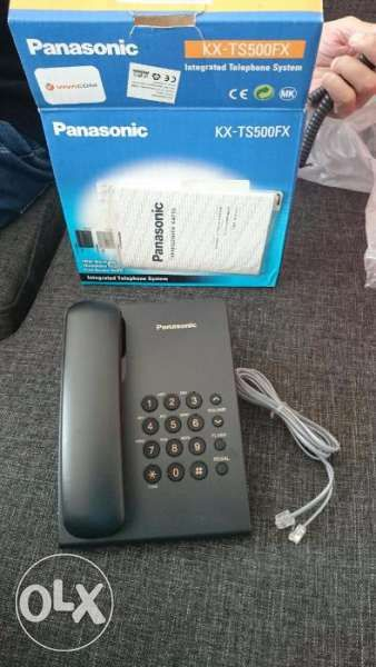 Стационарен телефон Panasonic - НОВ