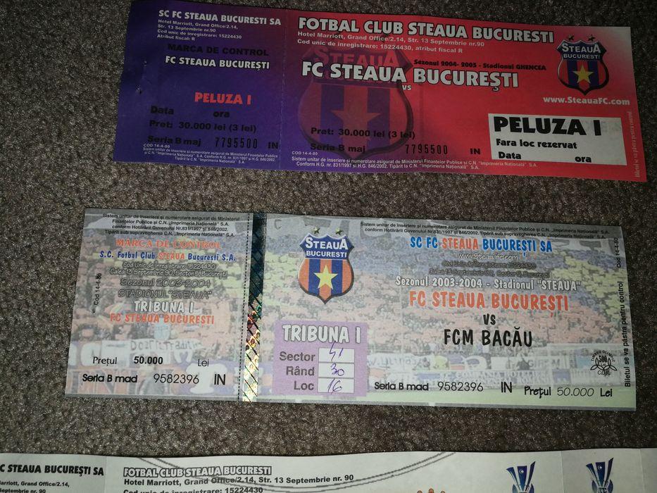 Vand bilet meci Steaua - Fcm Bacău sezonul 2003-2004