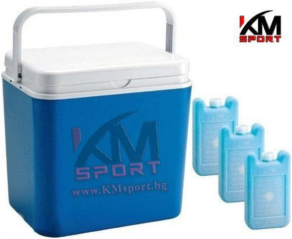 Нова хладилна кутия / чанта 10л и 24л с опция за охладители / ел.кути