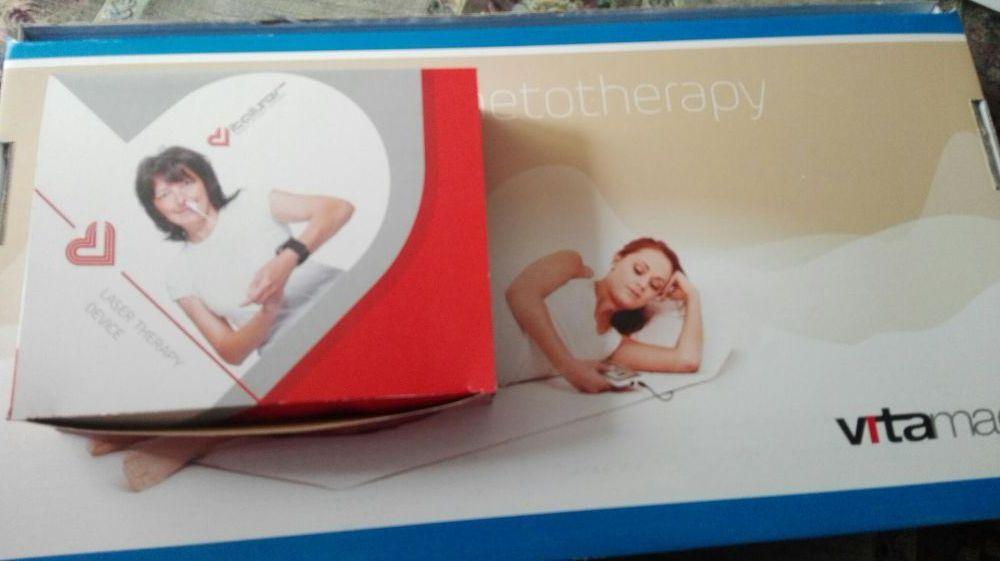 VitamagTerapieMagnetica pulsatoare+ Vitaliser device de ter.prin laser