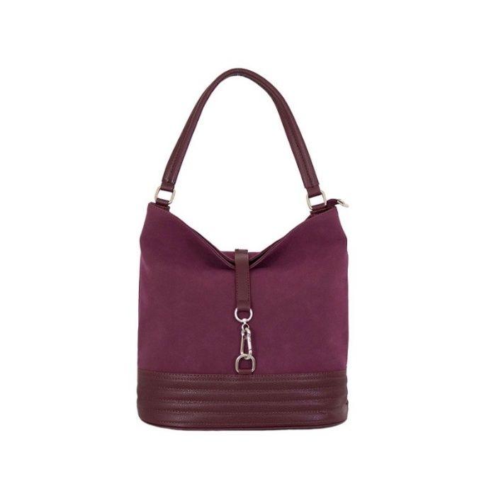 Дамска чанта - цвят бордо